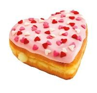 Celebrate Valentine's Day With Heart-Shaped Donuts and Chocolate Treats From Dunkin' Donuts