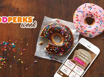 "Dunkin' Donuts to Launch First-Ever ""Perks Week"" November 14 to Honor and Reward Loyal Guests"