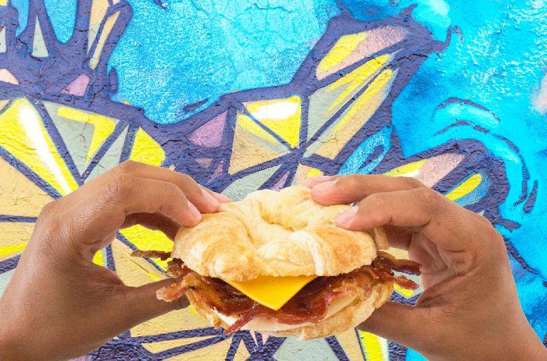 Bacon Lovers Rejoice –Sweet Black Pepper Bacon Breakfast Sandwich is Back!