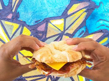 Bacon Lovers Rejoice –Sweet Black Pepper Bacon Breakfast Sandwich is Back!