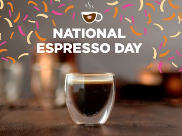 Celebrate National Espresso Day at Dunkin' with a $1.99 Medium Espresso Beverage
