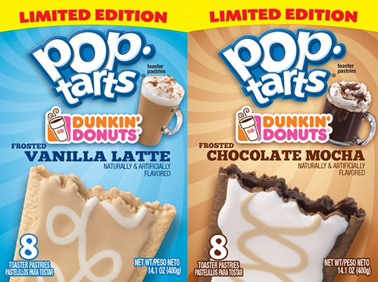 "Introducing New Pop-Tarts® ""Dunked"" In Indulgent Coffee Flavors"