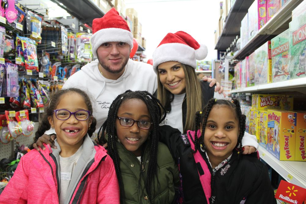 "The Cafua Family Brings Joy to Local MA Children with ""100 for 100"" Holiday Shopping Spree Event"