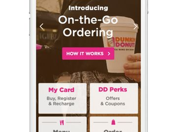 Dunkin' Donuts Brings On-the-Go Mobile Ordering to Metro New York
