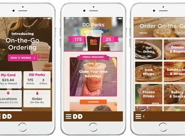Dunkin' Donuts' On-the-Go Mobile Ordering Now Available Nationwide