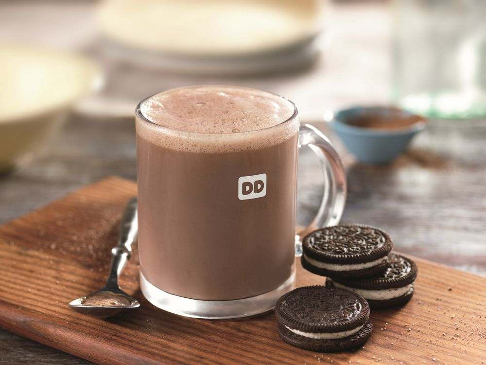 Dunkin' Donuts Launches New OREO® Flavored Hot Chocolate to  Sweeten the Season