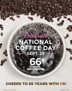 National Coffee Day is coming…get ready to celebrate!