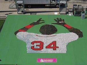 A 10,000-Donut Salute to #34:  Paying Tribute to Red Sox Designated Hitter David Ortiz
