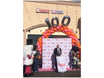 Let's Celebrate! Dunkin' Opens its 100th DD Green Achievement Restaurant in CA