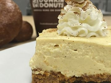 Culinary Corner: Celebrate National Pumpkin Cheesecake Day with Dunkin'