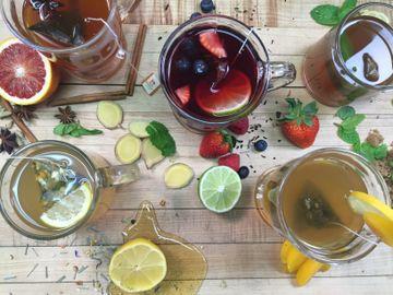 Tea Hot Toddy Lineup