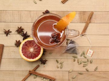Blood Orange Spiced Tea Toddy