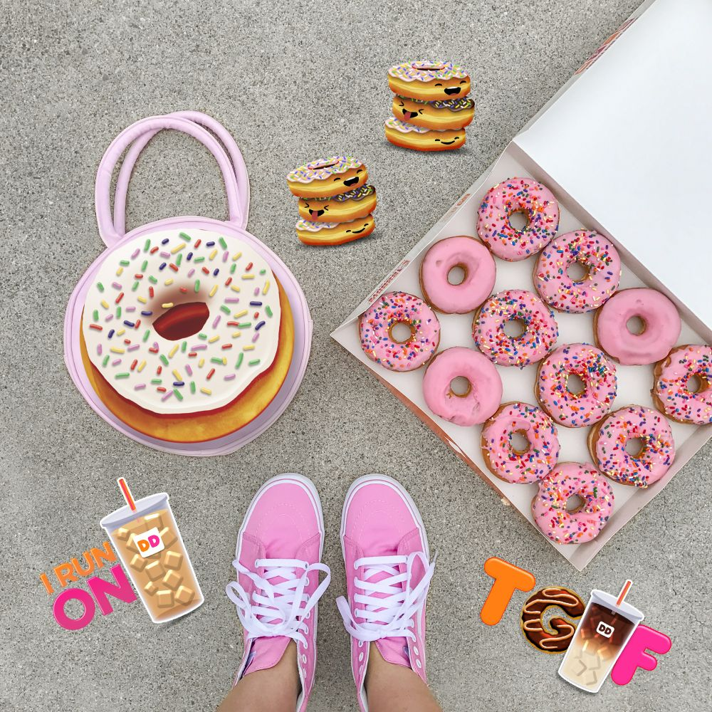 Share the Dunkin' Love with Our New Emoji Keyboard and iMessage Card Builder