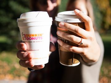 Share your Dunkin' Love Story for a Chance to Win DD Coffee + Donuts For a Year!