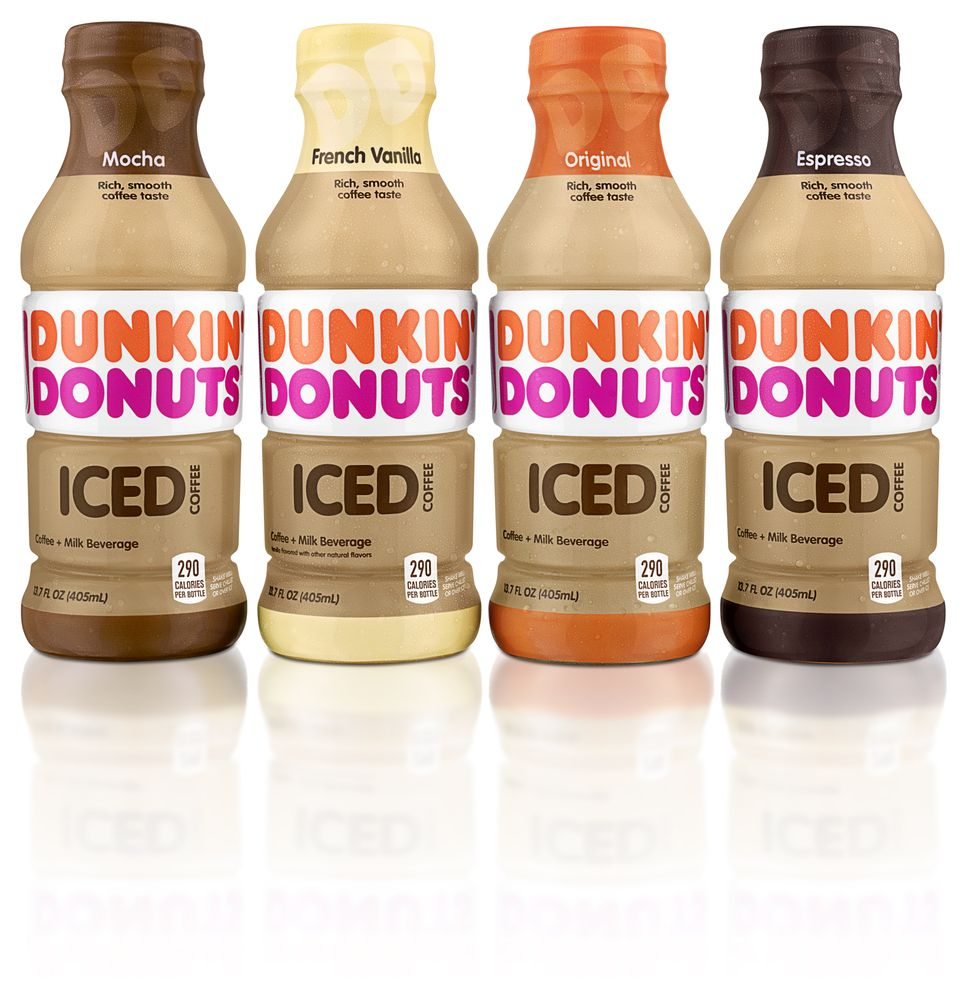 New Dunkin' Donuts Bottled Iced Coffee Now Arriving at Retailers and Dunkin' Donuts Restaurants Nationwide