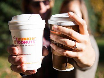 Dunkin' Donuts' Sweet Valentine Celebration: