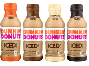 Bottled Iced Coffee Lineup