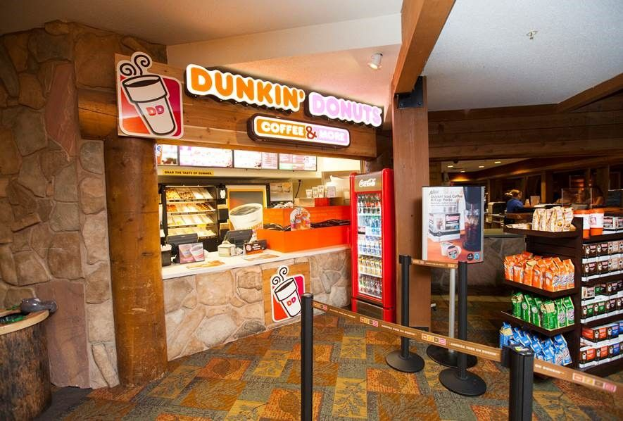 DUNKIN' DONUTS OPENS EIGHTH GREAT WOLF LODGE LOCATION IN