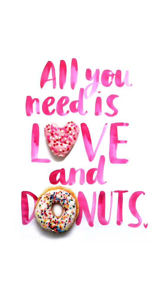 Love & Donuts  For iPhone 6 Plus