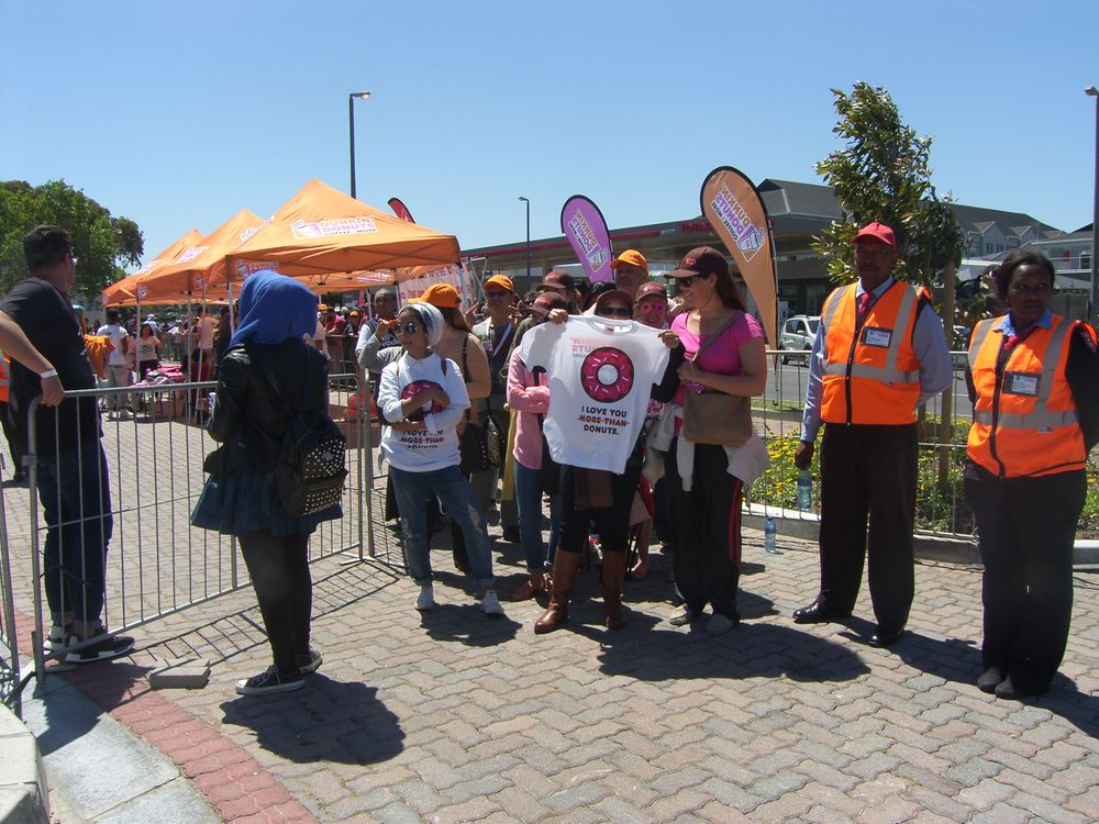 Dunkin' Donuts South Africa Grand Opening