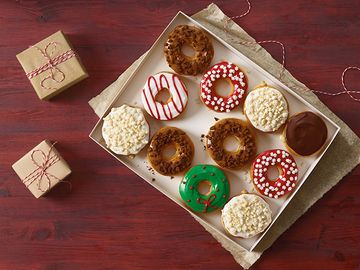 The Story Behind Dunkin' Donuts' Holiday Coffees and Donuts