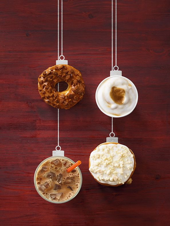 Holiday Donut Coffee Pairing