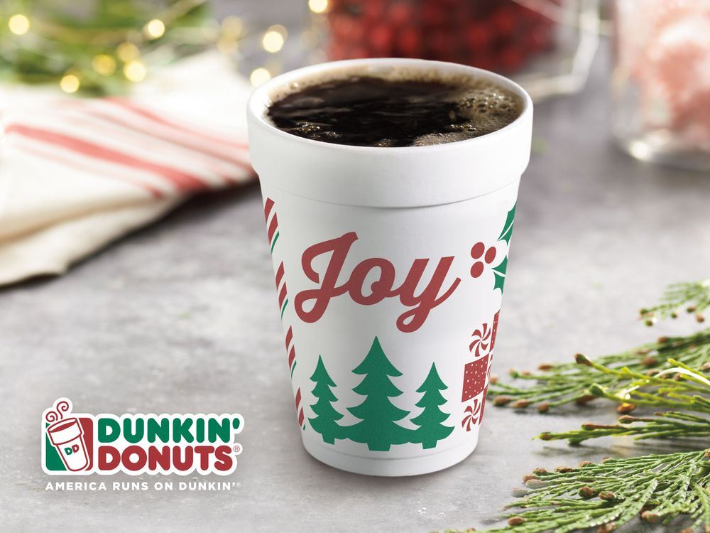 Holiday Menu, Merchandise and More Make a Merry Arrival at Dunkin' Donuts Today