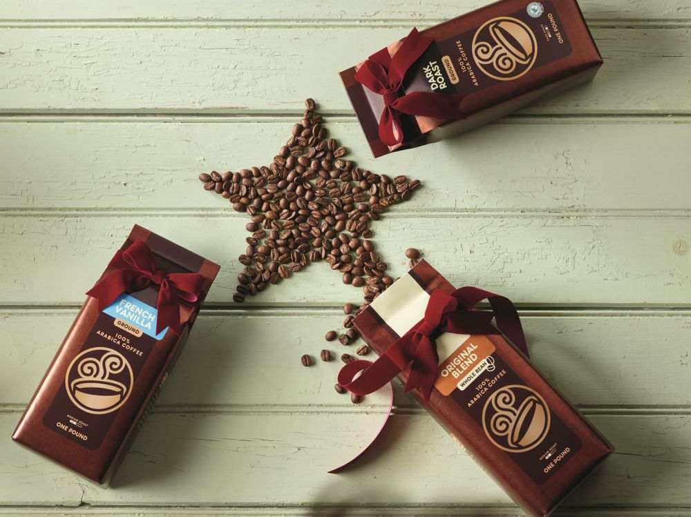 Holiday Packaged Coffee