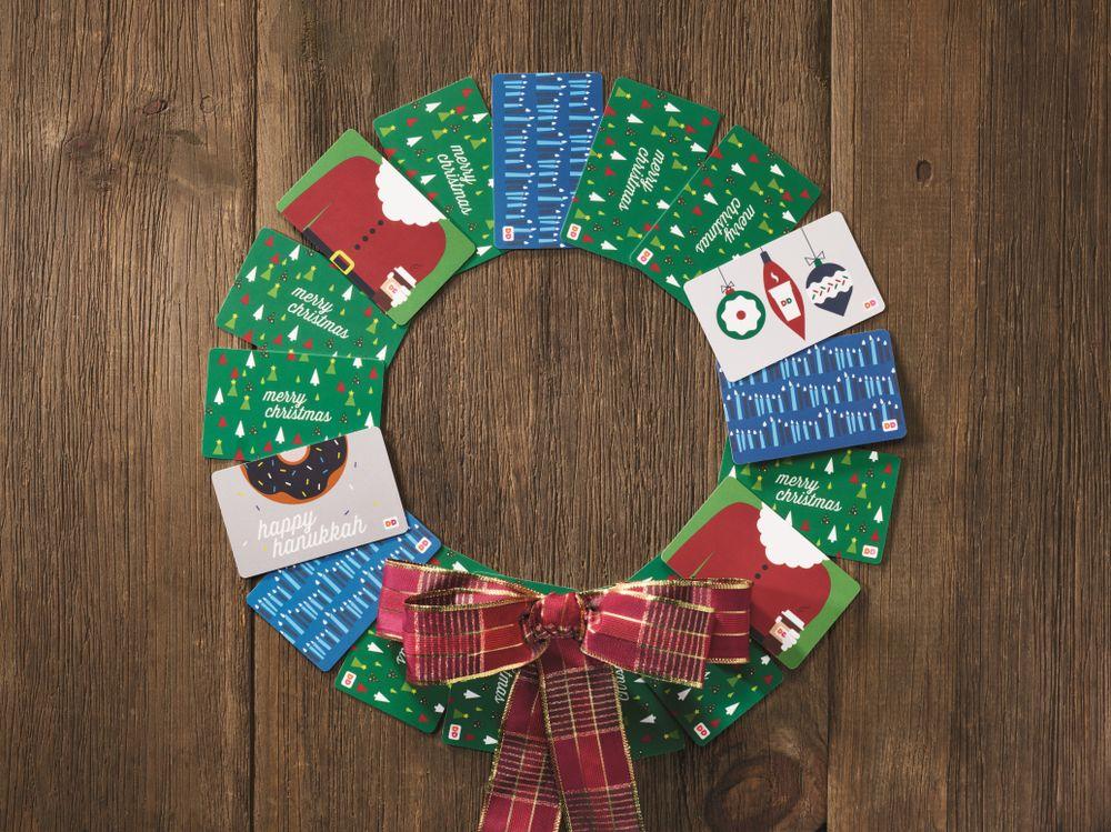 DD Card Wreath