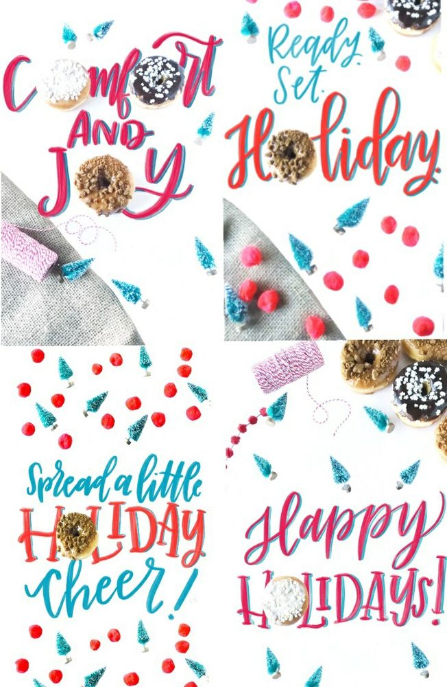 Check Out These Festive Holiday Mobile Wallpapers, Emojis and Snapchat Lens from Dunkin' Donuts!