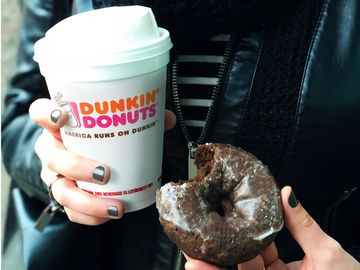 Dunkin' Donuts Welcomes The Darkest Day In A Bold Way