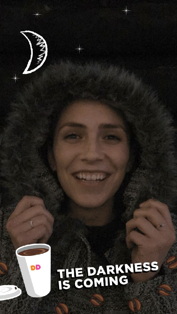 Darkness is Coming Animated Snapchat Filter