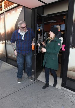 Kristian Nairn Holds The Door for a Guest