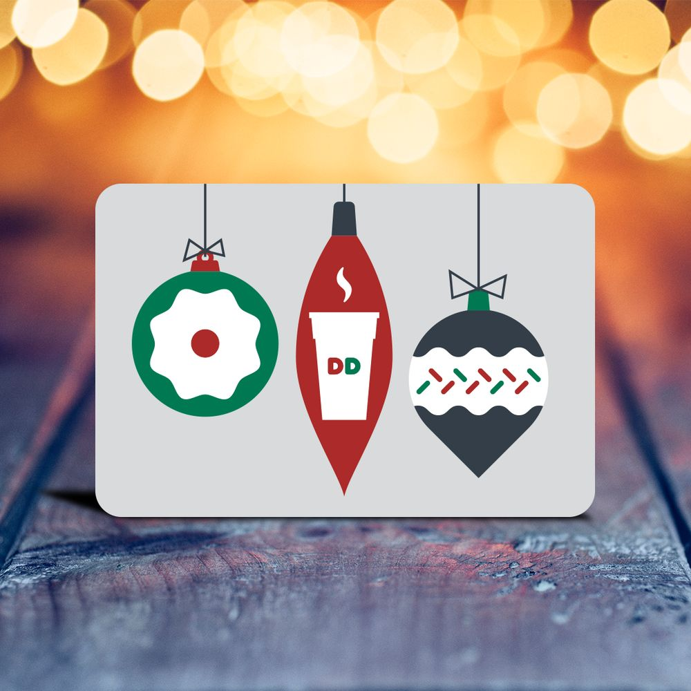 Need a Last Minute Gift? Give a $20 DD Card and Get $10!