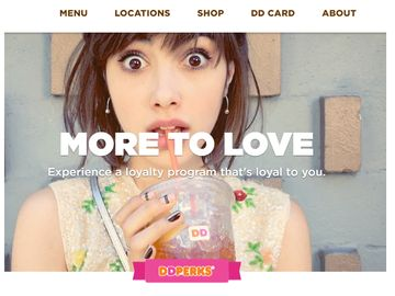 Check Out the Newly Redesigned Dunkin' Donuts Website