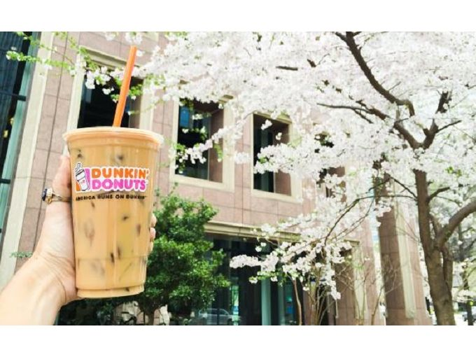 Iced Coffee in Spring Updated