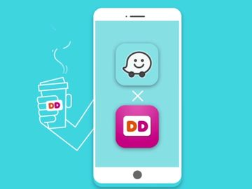 Dunkin' Donuts Partners With Waze To Launch Order Ahead Feature Within Waze App
