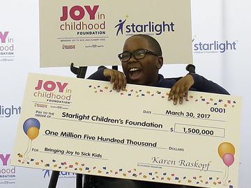 Joy in Childhood Foundation Gives $3 Million to Support Sick and Hungry Children