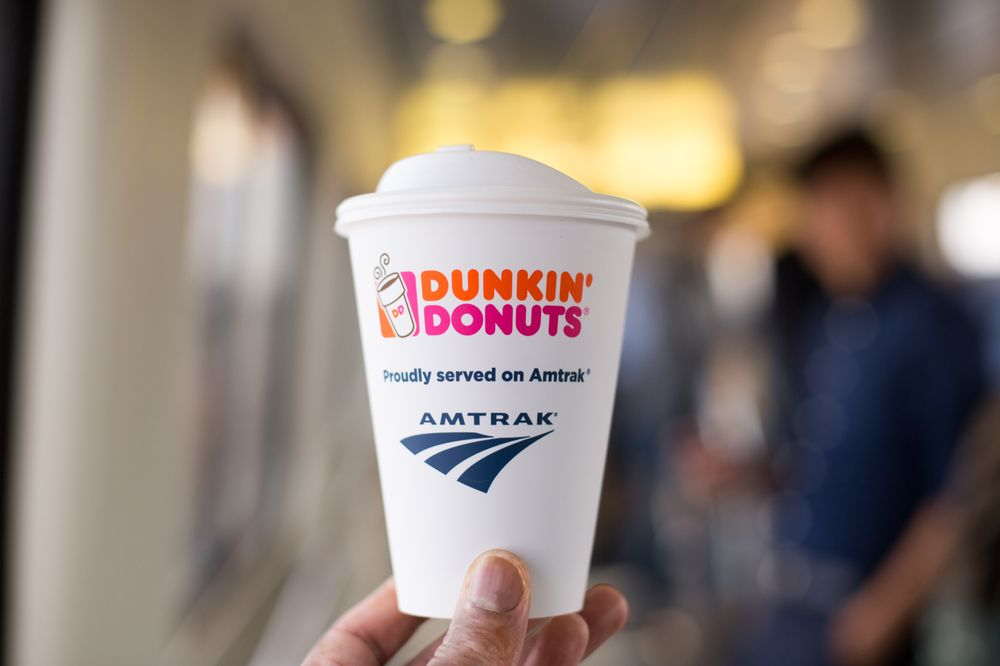 Dunkin' Donuts and Amtrak® Expand Partnership with Hot Coffee Service On Board Amtrak® Northeast Regional Trains Beginning Today
