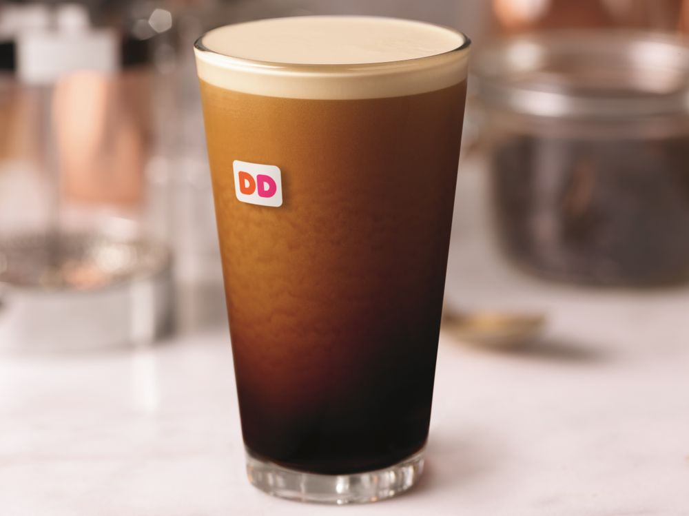 Introducing Dunkin' Donuts Nitro Coffee in Hartford, CT and Wilkes-Barre/ Scranton, PA