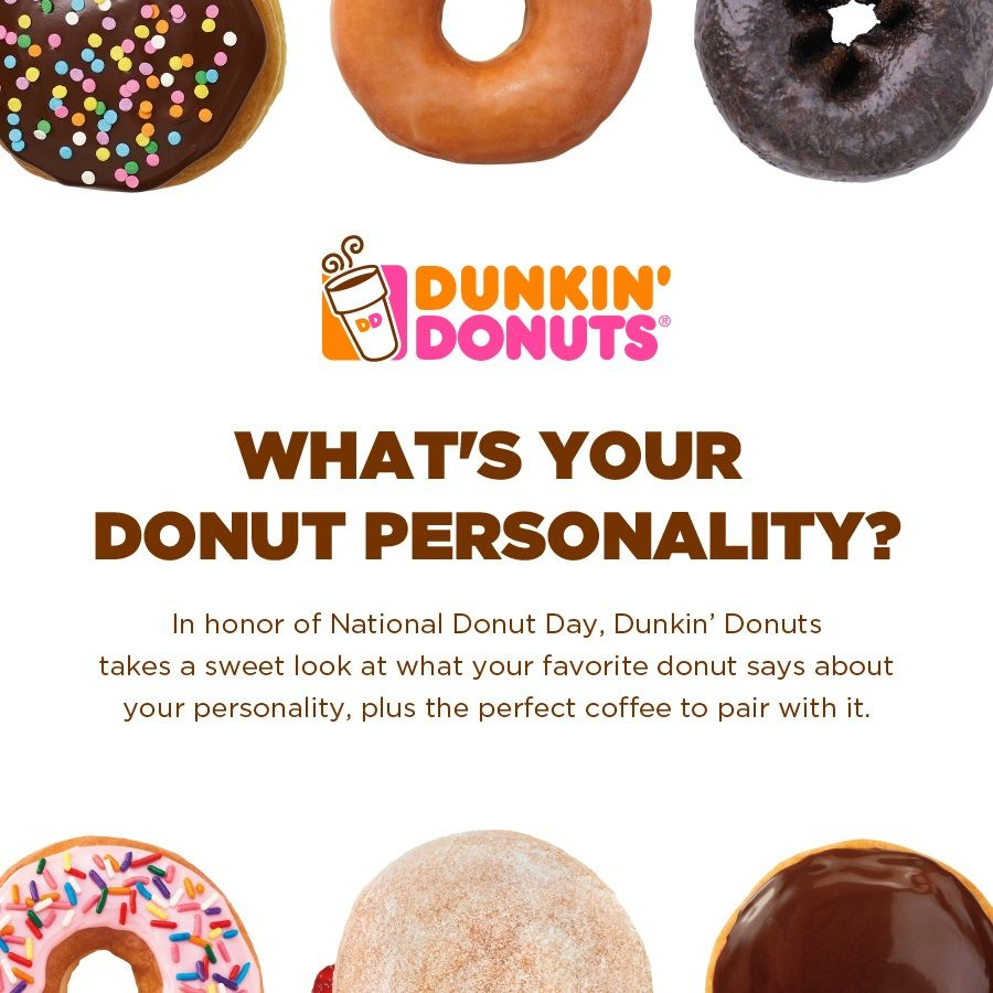 What\'s Your Donut Personality? | Dunkin\'