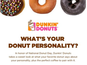 What's Your Donut Personality?