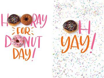 Say Hooray For National Donut Day With Our New Mobile Wallpapers and Emojis!