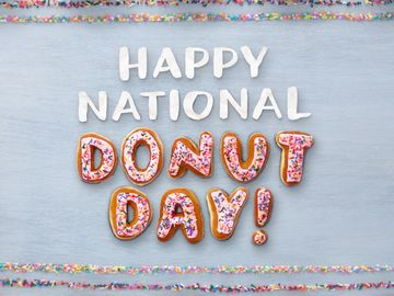Happy National Donut Day