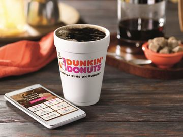 How to Use On-the-Go Mobile Ordering on the Dunkin' Mobile App