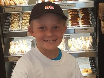 "Charlotte Dunkin' Donuts Restaurants ""Bring It 4 Braylon"" to Support Pediatric Cancer"