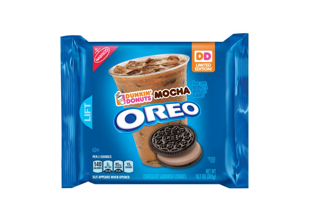Introducing Limited Edition Dunkin' Donuts Mocha Flavored OREO® Cookies