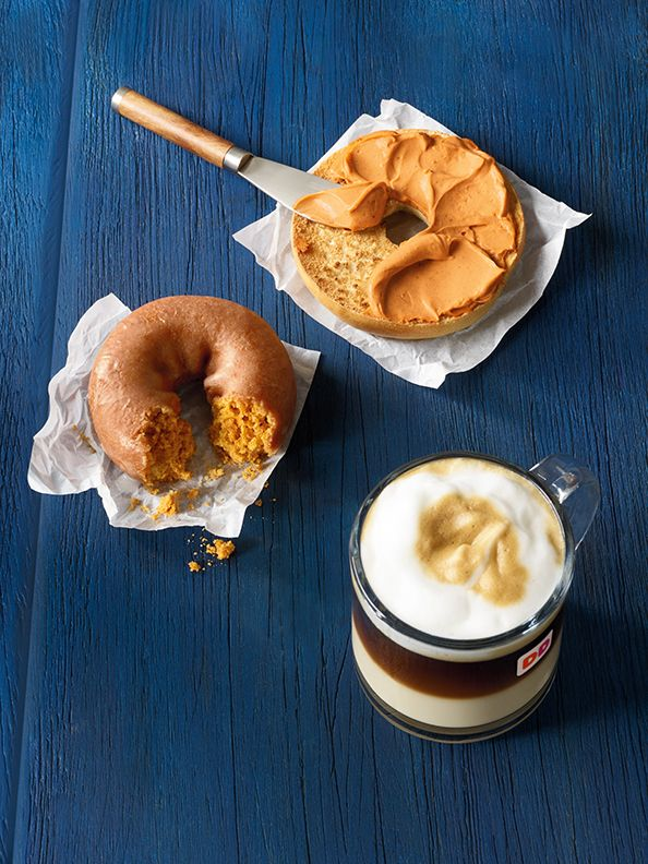 A Flavorful Fall Is Coming to Dunkin' Donuts this Month