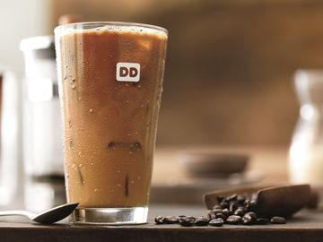Iced Dark Roast Coffee