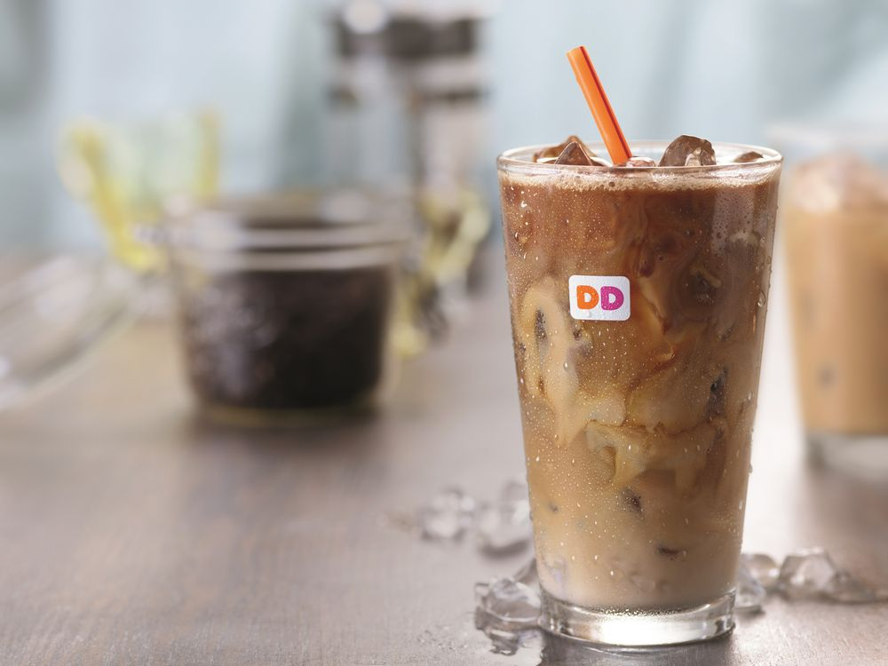 The Secret To Dunkin' Donuts Iced Coffee